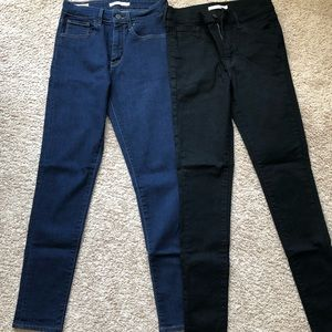 Levi's 721/720 High Rise Skinny Jeans